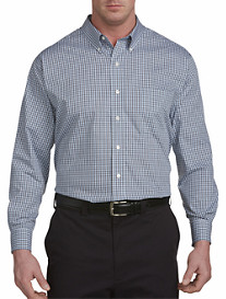 Oak Hill® Twisted Plaid Sport Shirt