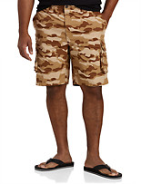 True Nation® Ripstop Stretch Cargo Shorts