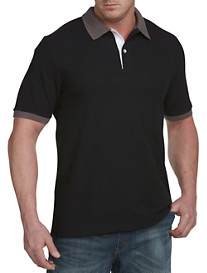 Harbor Bay® Contrast Piqué Polo