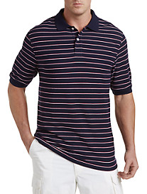 Harbor Bay® Mini Two-Stripe Piqué Polo