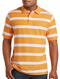 Harbor Bay® Rugby Stripe Polo