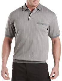 Harbor Bay® Stripe Banded-Bottom Shirt