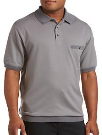 Harbor Bay® Diamond Dot Banded-Bottom Shirt