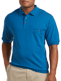 Harbor Bay® Textured Banded-Bottom Shirt