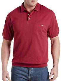 Harbor Bay® Textured Banded-Bottom Shirt