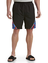 Harbor Bay® Colorblock Swim Trunks
