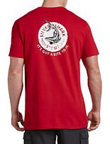 Nautica® Silver Shark Stout Graphic Tee