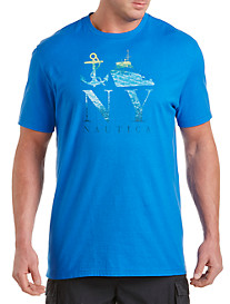 Nautica® Anchor Boat NY Graphic Tee