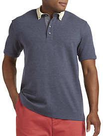 Nautica® Polo with Twill Details
