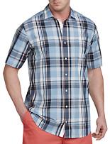 Nautica® Drift Blue Plaid Sport Shirt