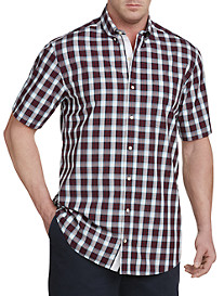 Nautica® Tica Red Plaid Sport Shirt