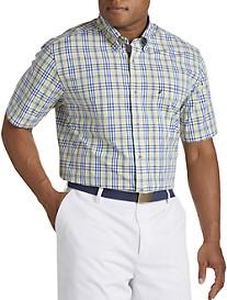 Nautica® Marigold Plaid Sport Shirt