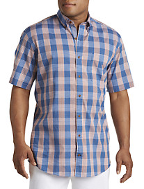 Nautica® Fireside Plaid Sport Shirt