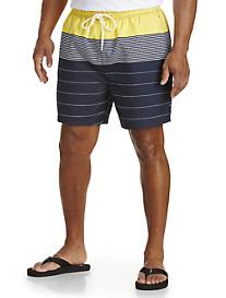 Nautica® Stripe Swim Trunks