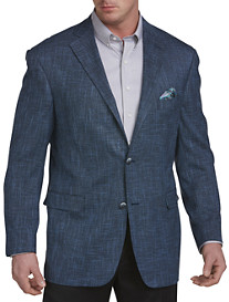 Oak Hill® Jacket Relaxer™ Bright Blue Textured Sport Coat