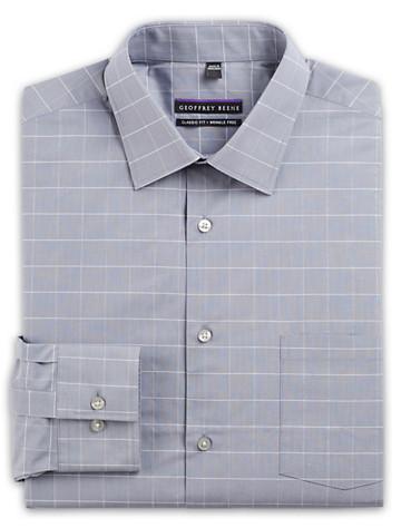 Geoffrey Beene® Windowpane Dress Shirt ( Mix & Match Geoffrey Beene, Gold Series & Synrgy Dress Shirts )