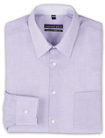 Geoffrey Beene Non-Iron Grape Gingham Dress Shirt