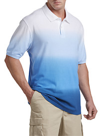 True Nation® Dip-Dyed Polo