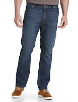 True Nation® Athletic-Fit Washed Blue Jeans