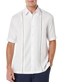 Cubavera® Inset-Panel Sport Shirt