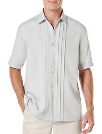 Cubavera® Pintucked Panel Sport Shirt