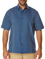 Cubavera® Ombré Slub Embroidered Sport Shirt