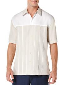 Cubavera® Contrast Yoke Sport Shirt
