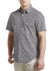Perry Ellis® Floral-Print Sport Shirt