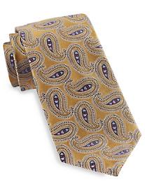 Gold Series Designed in Italy Filigree Paisley Silk Tie