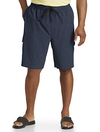 True Nation® 4-Way Stretch Solid Swim Trunks