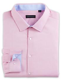 Andrew Fezza Dobby Pindot Dress Shirt