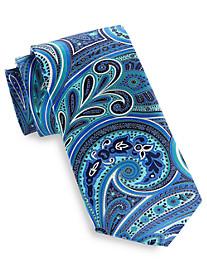 Geoffrey Beene® Swirly Paisley Silk Tie