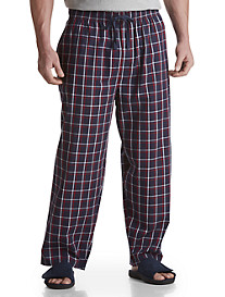 Harbor Bay® Woven Plaid Lounge Pants