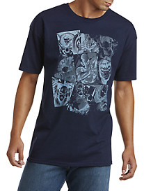 Marvel Blue Blocks® Characters Graphic Tee