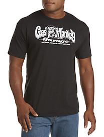 Gas Monkey® Black/White Graphic Tee