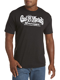 Gas Monkey® Black/White Graphic Tee
