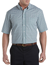 Oak Hill® Small Check Performance Sport Shirt
