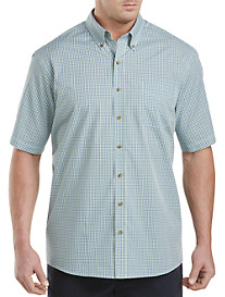 Harbor Bay® Easy-Care Multi Plaid Sport Shirt