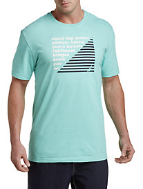 Nautica® List Crew Graphic Tee