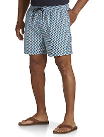 Nautica® Micro-Geometric Swim Trunks
