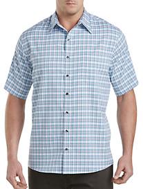 Synrgy™ Microfiber Large Plaid Sport Shirt