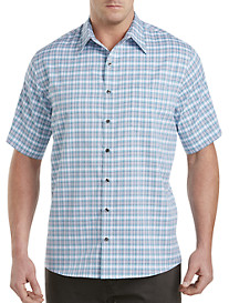 Synrgy™ Microfiber Large Plaid Sport Shirt