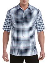 Synrgy™ Microfiber Medium Plaid Sport Shirt