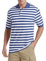 Harbor Bay® Bi-Color Stripe Polo