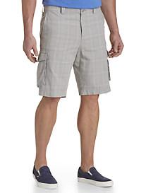 True Nation® Linen-Blend Cargo Shorts