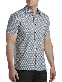 Perry Ellis® Tribal Diamond Pattern Sport Shirt