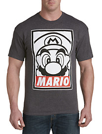 Obey Mario Graphic Tee