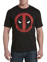 Deadpool Splatter Logo Graphic Tee