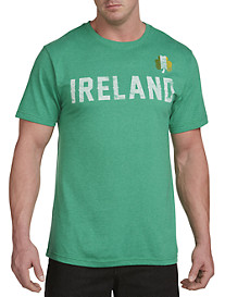 Ireland Clover Graphic Tee