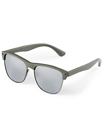 True Nation® Mirrored Retro Sunglasses